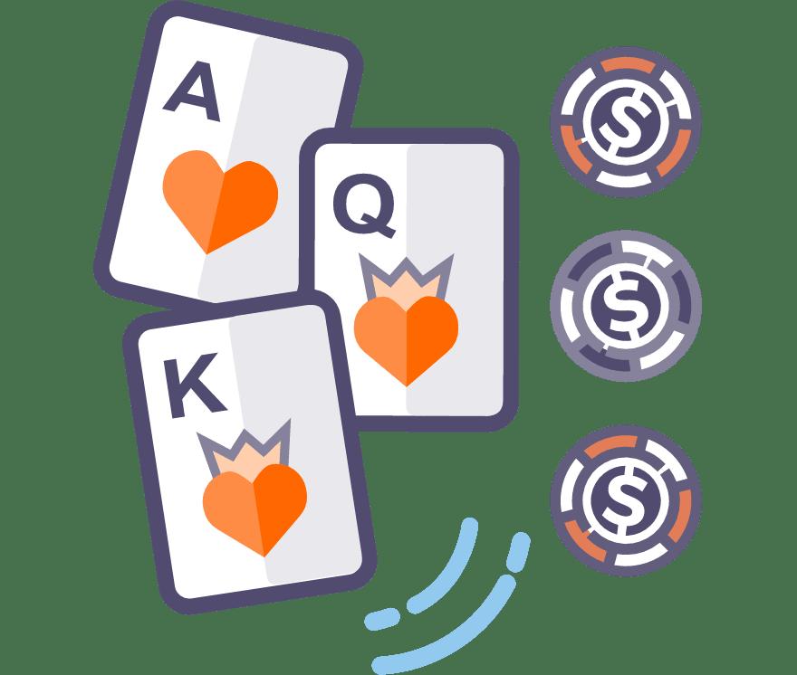 41  Kasino Online Poker Tiga Kartu terbaik pada tahun 2021